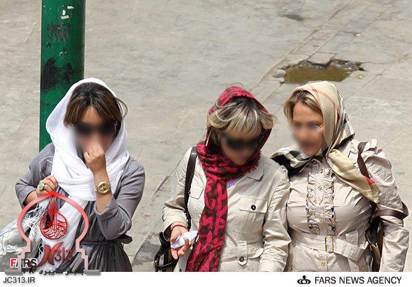 زنان بی حجاب ایرانی