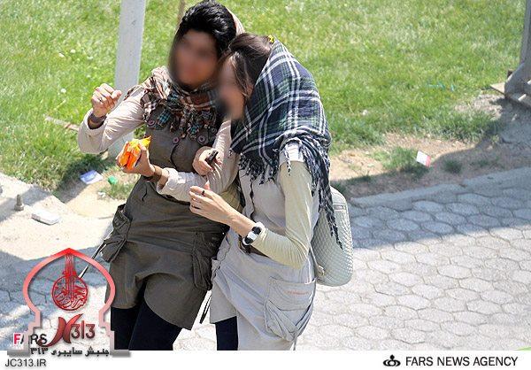 دختر ایرانی و حجاب