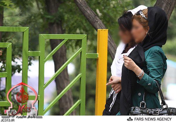 بی حجابی دختران ایرانی