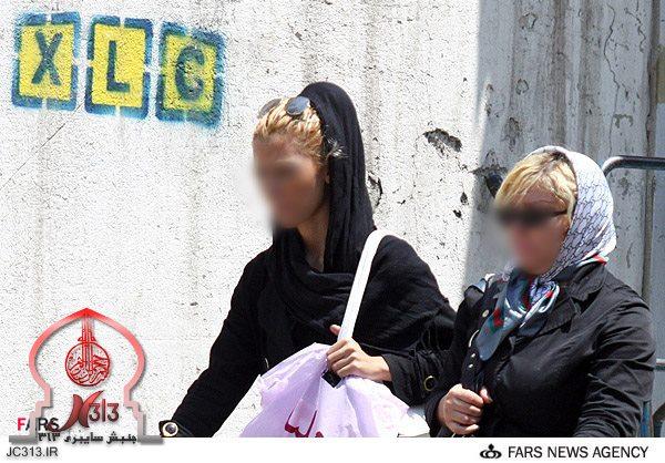 حجاب دختران ایرانی