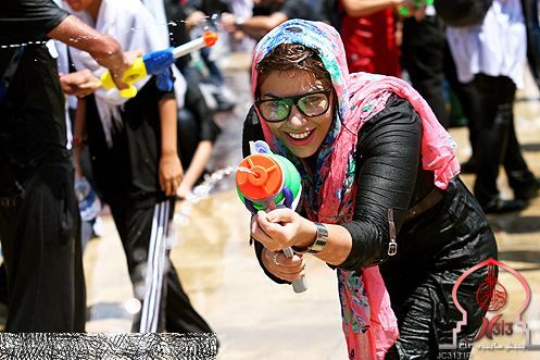 جشن آب در تهران