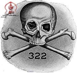 جمجمه و استخوان نماد فراماسونری